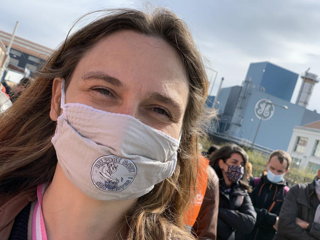 250 personnes se sont mobilisées ce vendredi 9 avril contre le plan social dans la branche nucléaire de General Electric à Belfort.