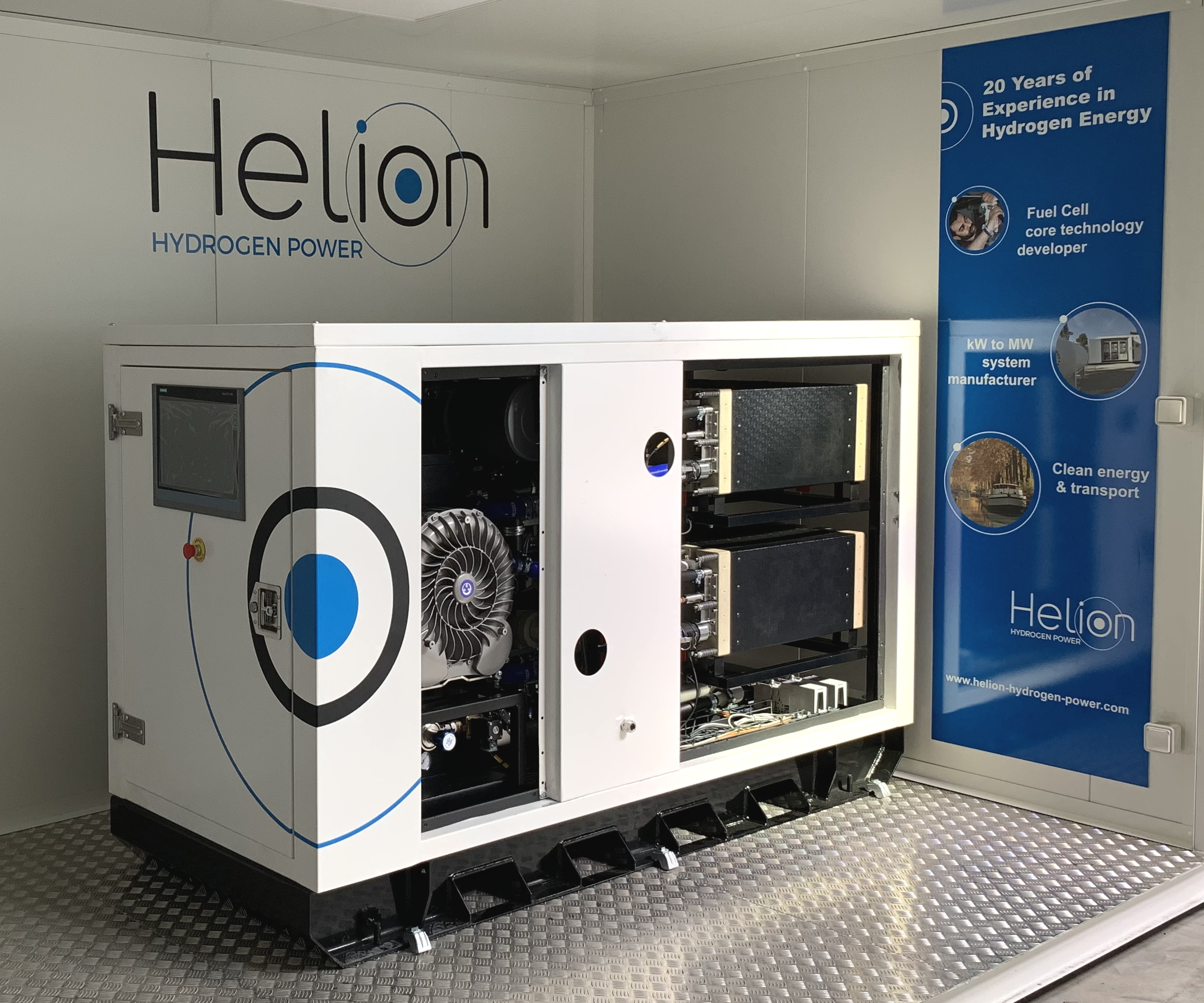 L'industriel Alstom vient d'annoncer l'achat d'Helion Hydrogen Power, une filiale à 100 % d'Areva énergies renouvelables