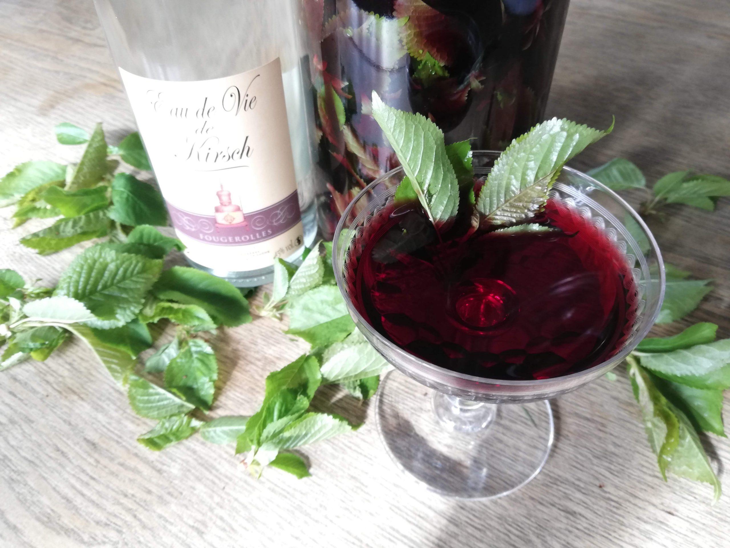 vin de merisier (Fleur)