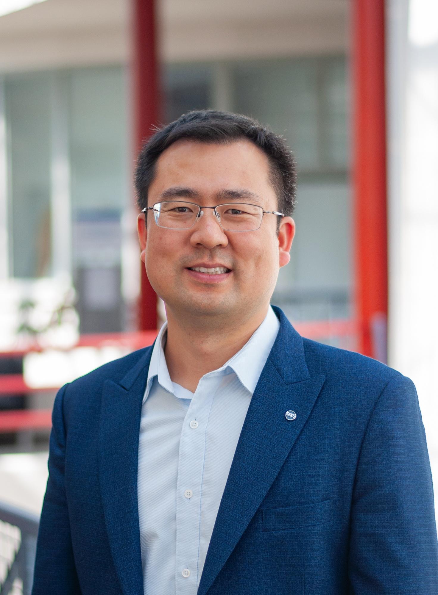 Yicha Zhang, maître de conférences à l'université de technologie de Belfort-Montbéliard (UTBM) .