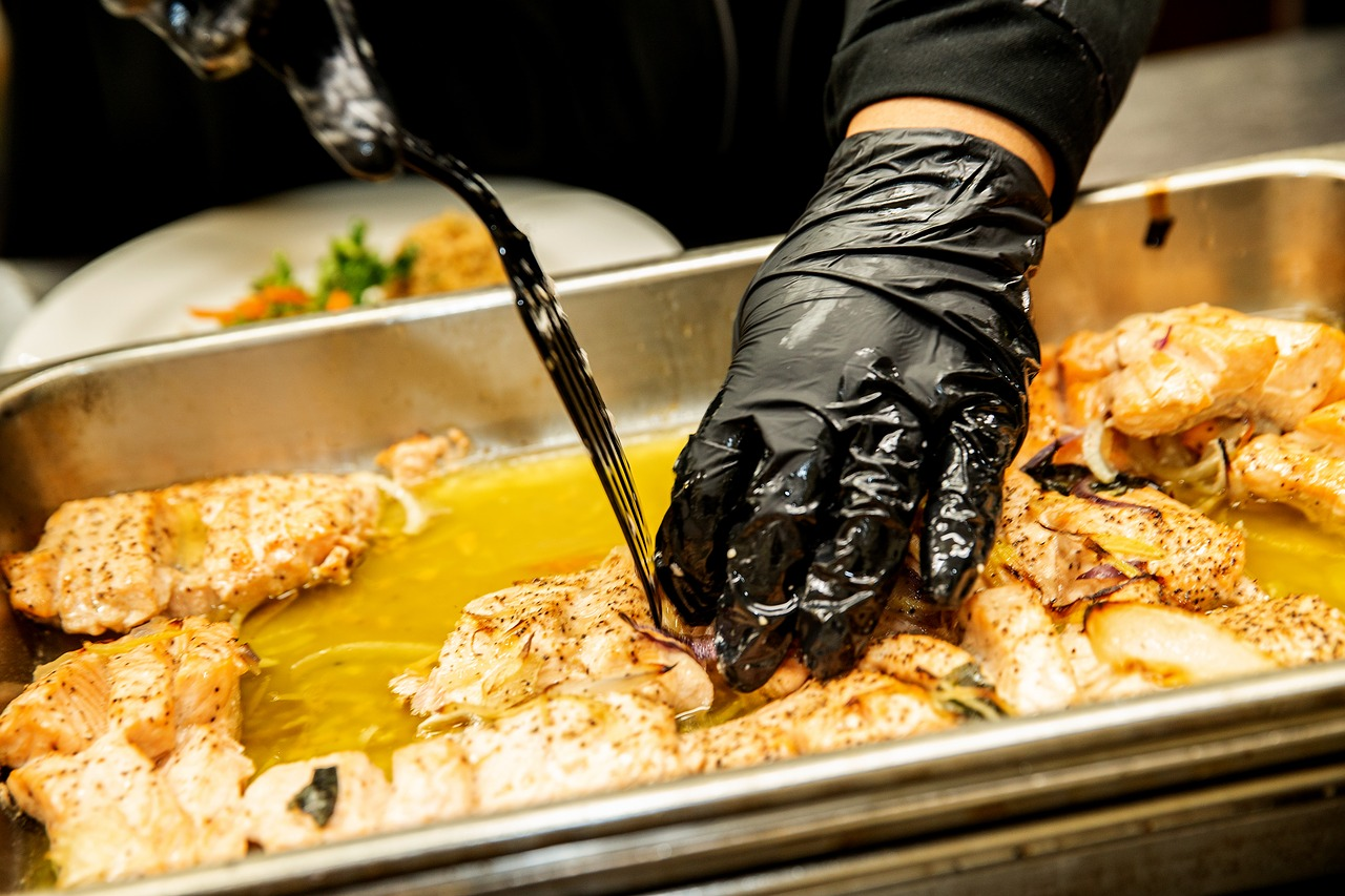 cuisine saumon (Rick Bella de Pixabay)