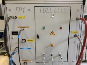 Un banc d'essai hydrogène de forte puissance pour pile à combustible a été inauguré à l'université de technologie Belfort-Montbéliard (UTBM).