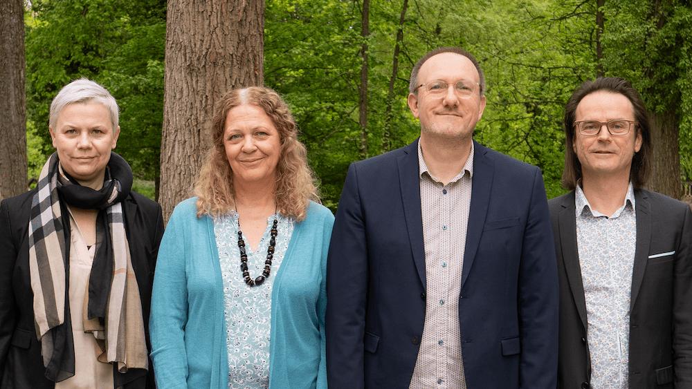 Catherine Conat et Jérôme Trossart, candidats dans le canton de Montbéliard (DR)