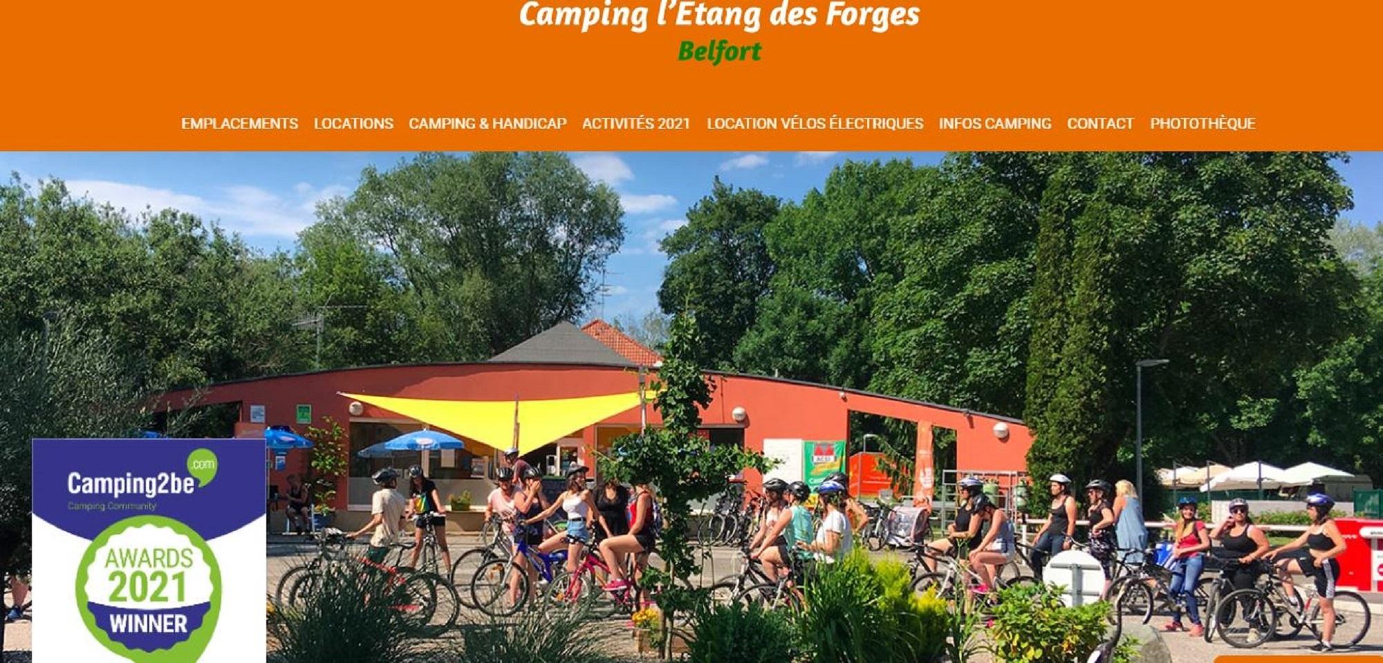 camping étang des Forges