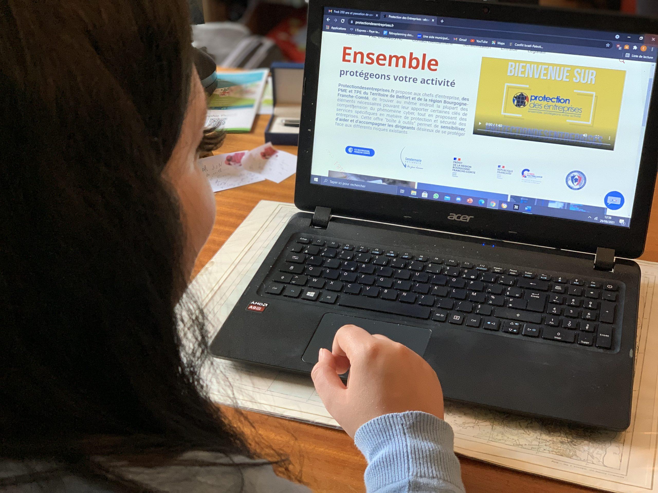 site cyberattaque CCI (TQ)