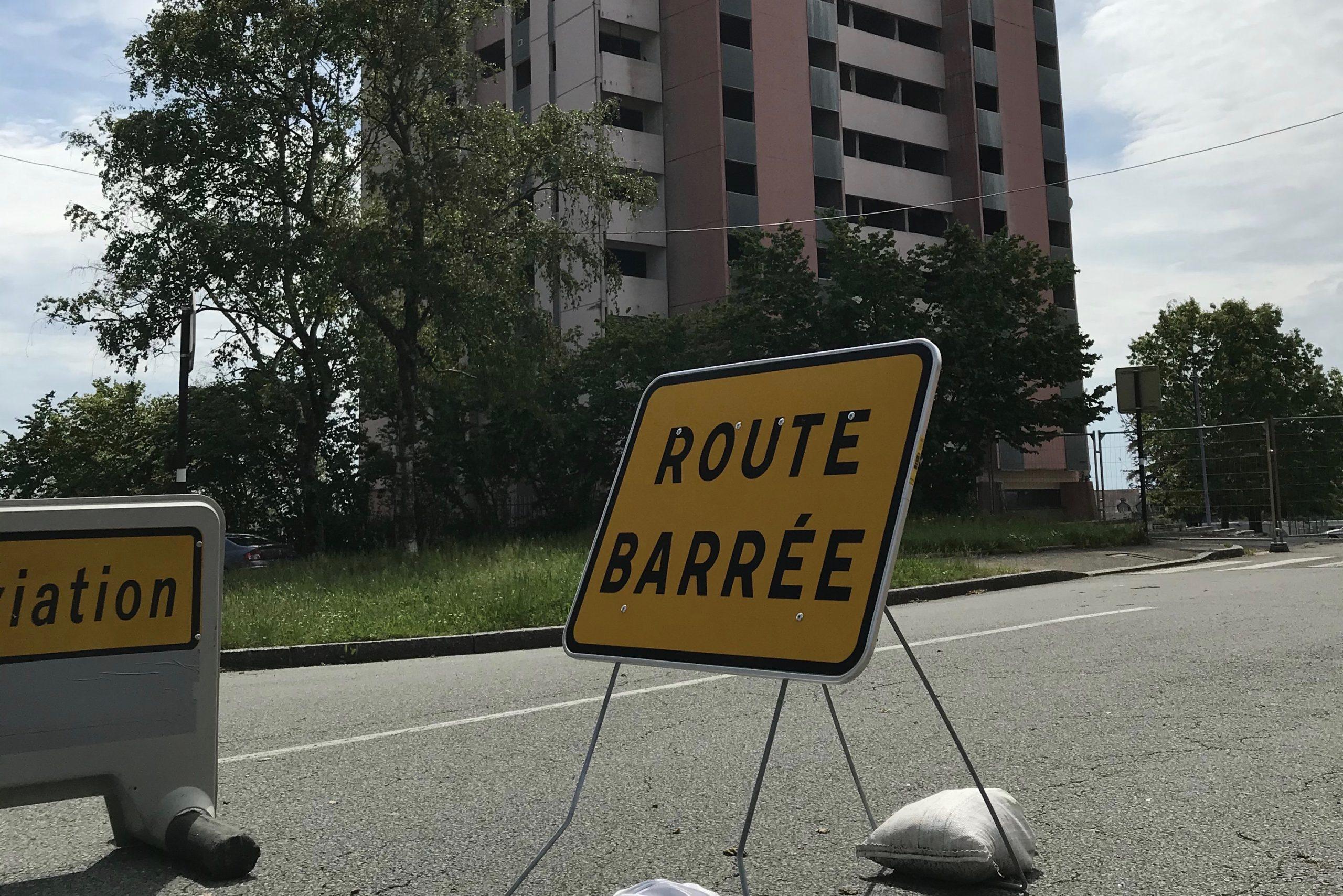 destruction rue Dorey Belfort