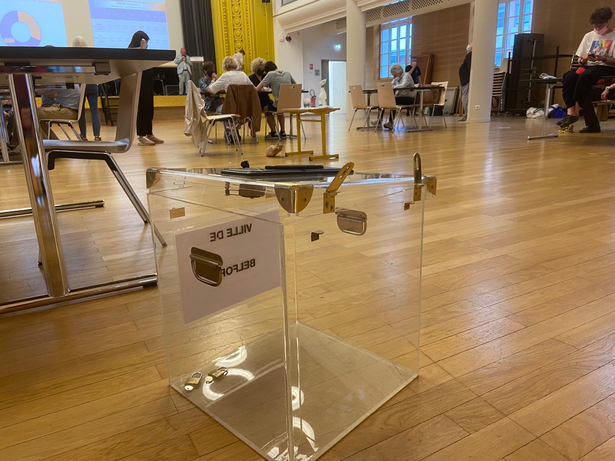 urne élections Belfort