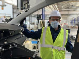 Christophe Montavon, directeur de l'usine Stellantis de Sochaux.