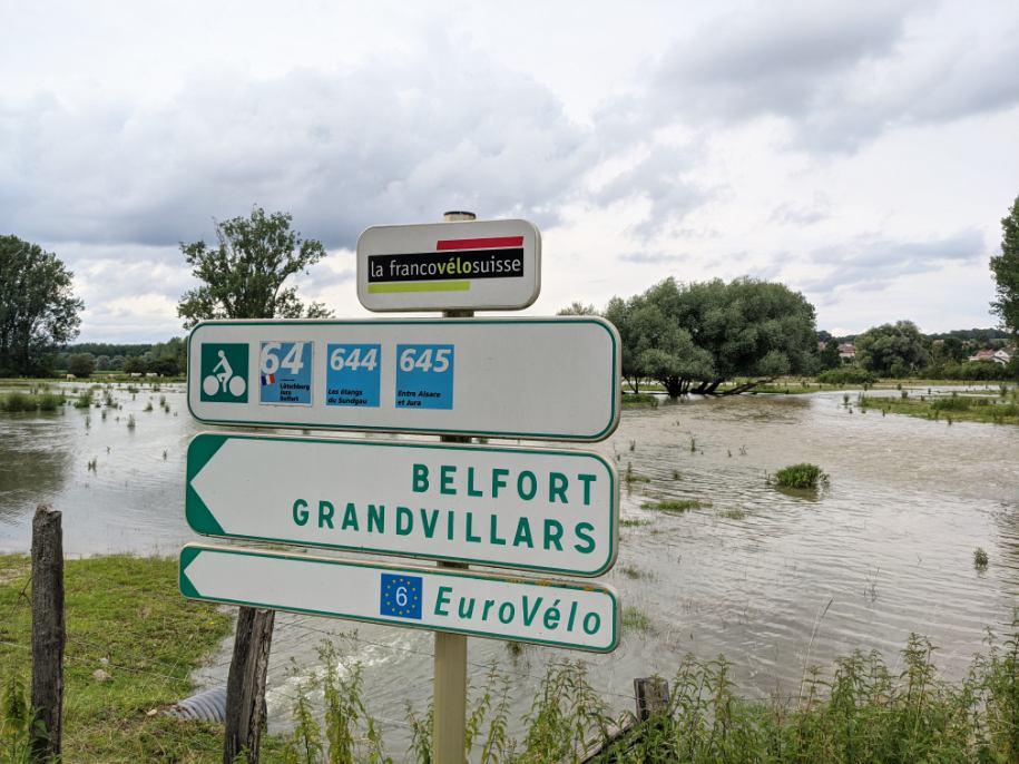 Inondations sud Territoire mardi 13 juillet 2021