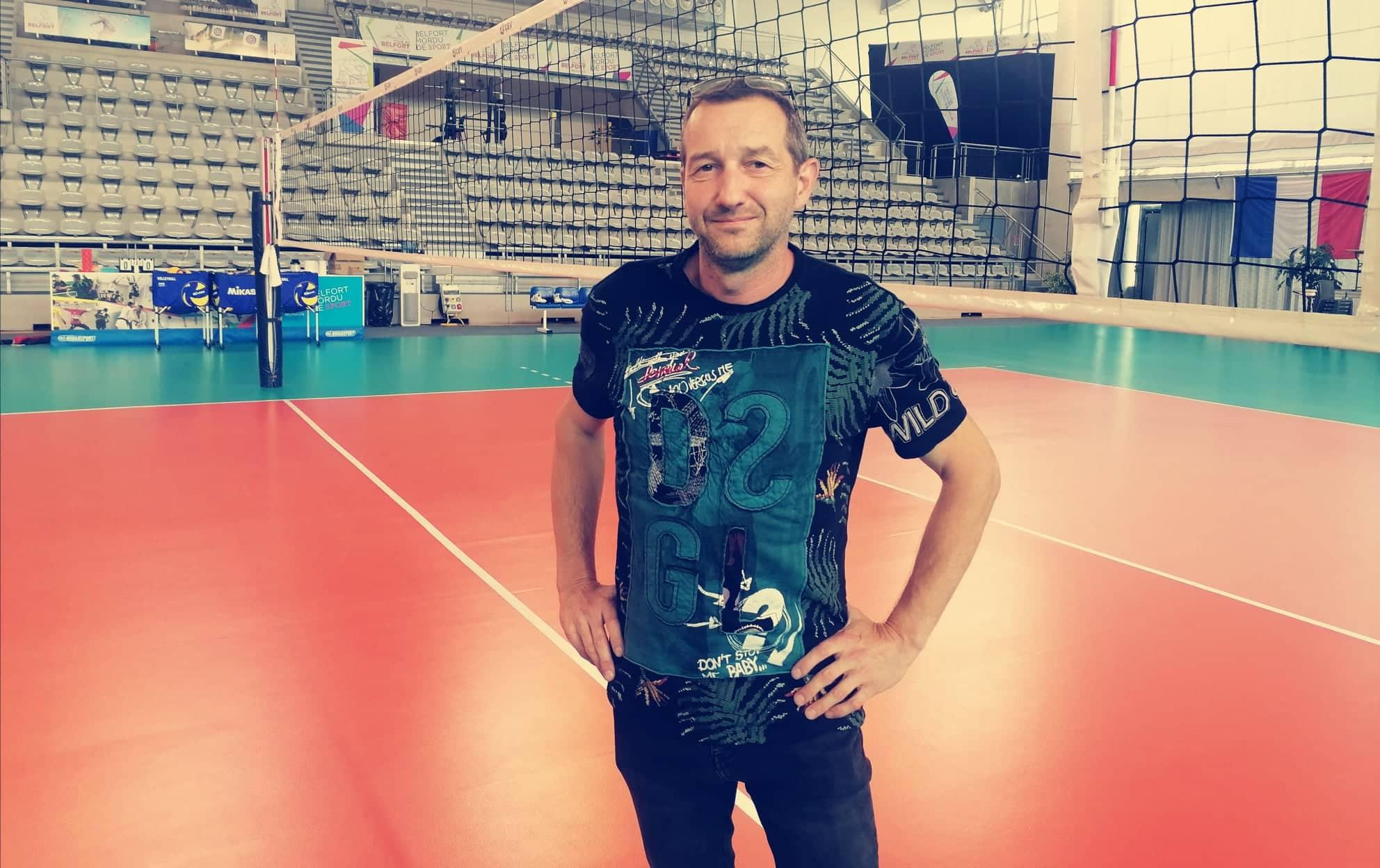 Stéphane Marazzi, président du club de volley du Phare – EC