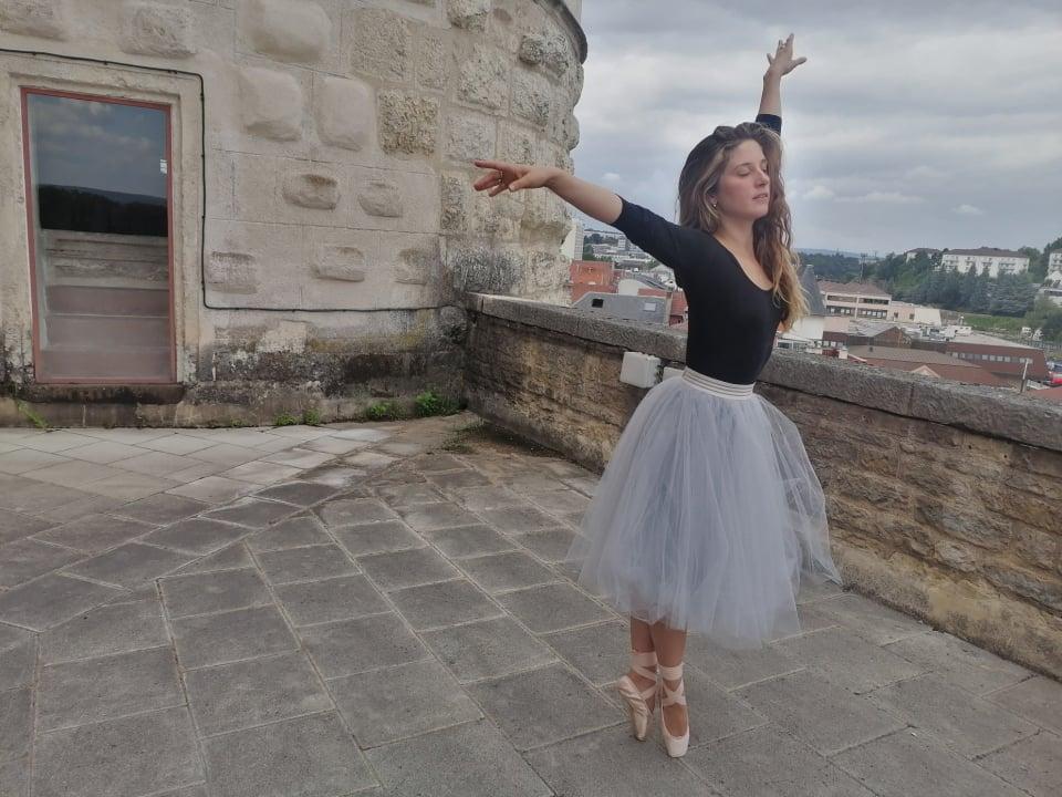 Jeanne Morel : danseuse classique _ EC