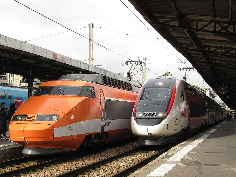 Deux TGV (CC BY-SA 4.0)