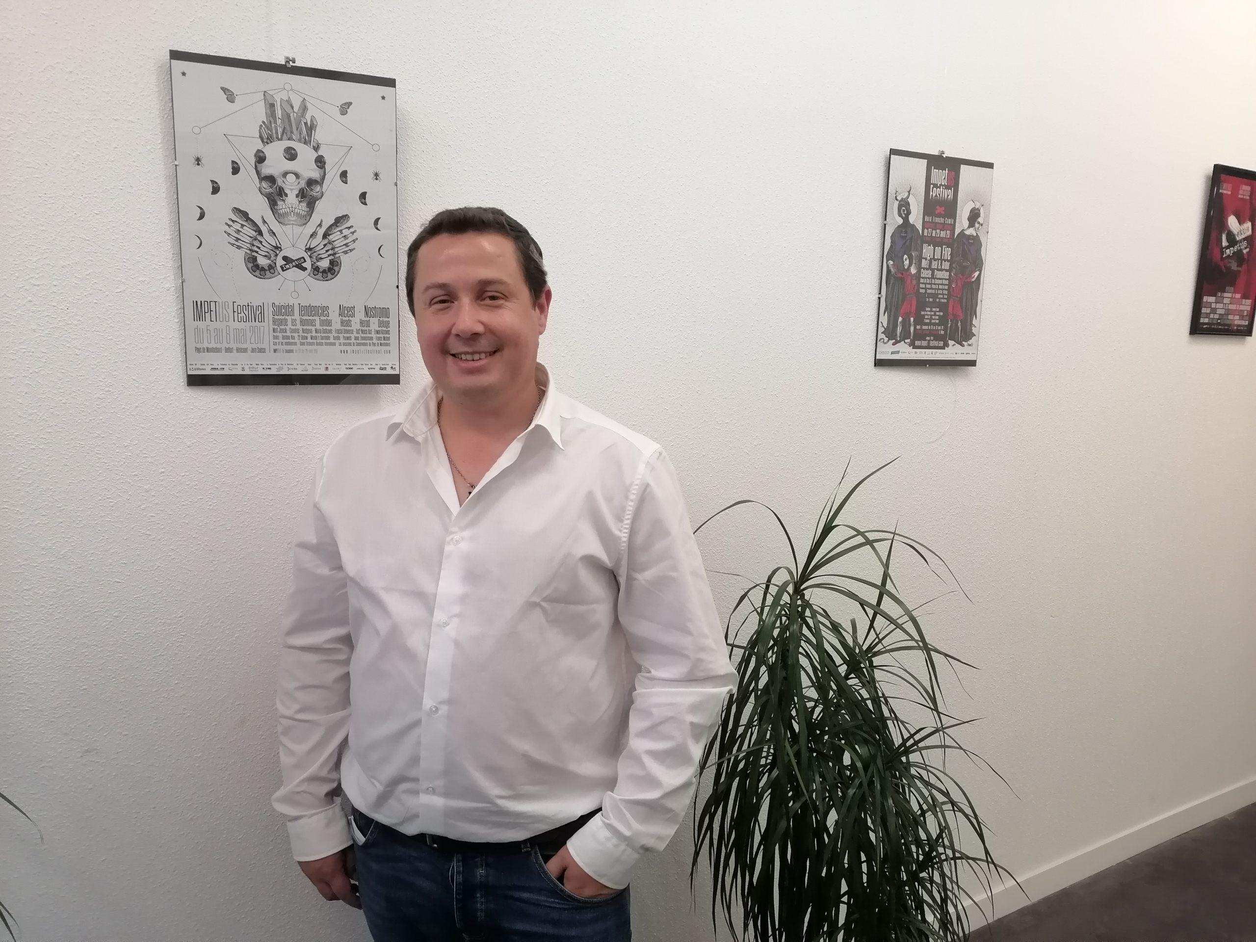 David Demange, directeur du Moloco- EC