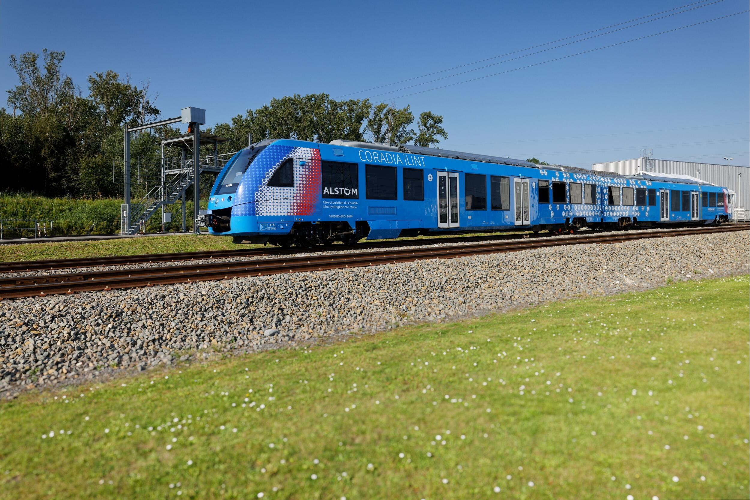 Le Coradia iLint d'Alstom_ Valenciennes (Alstom – Samiel Dhote)