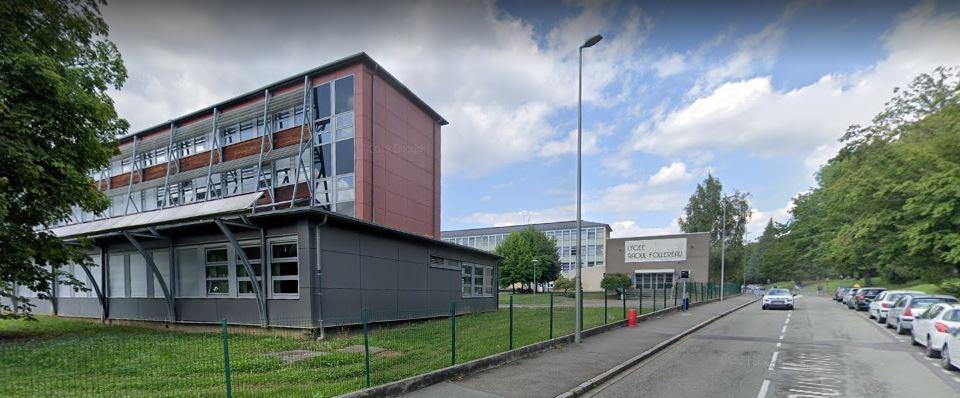 Lycée raoul follereau – google street view