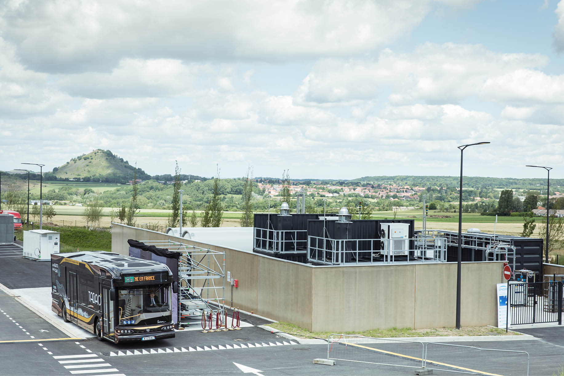 Station hydrogène de Lens, construite par McPhy (McPhy)
